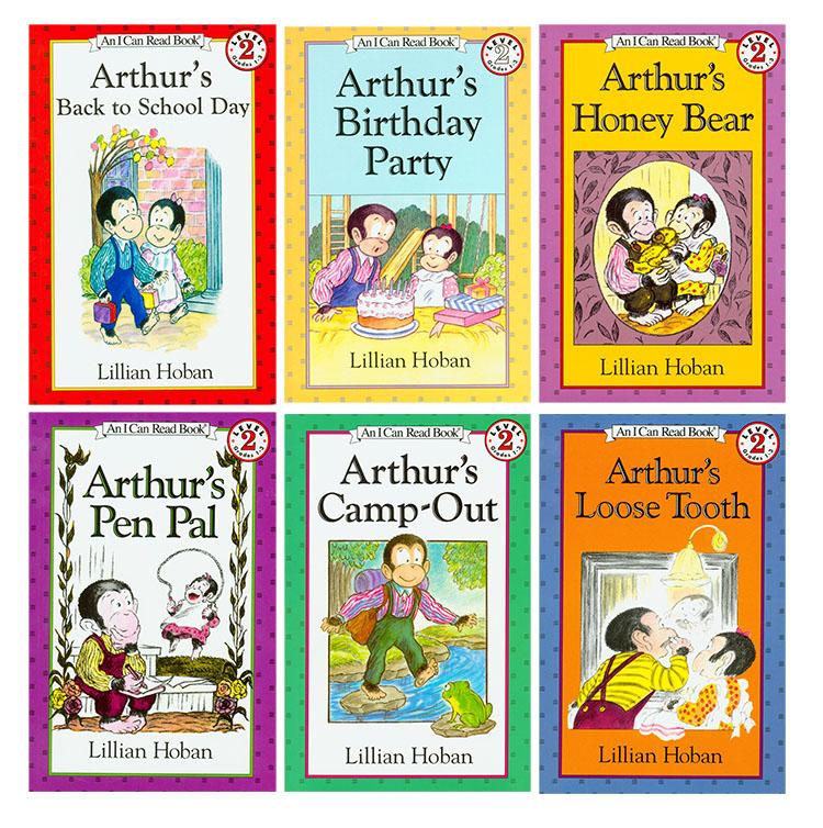 美国进口 汪培珽第四阶段  I Can Read  亚瑟系列 Arthur's 6册【平装】-图片介绍1