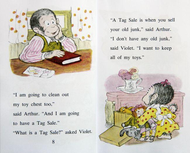 美国进口 汪培珽第四阶段  I Can Read  亚瑟系列 Arthur's 6册【平装】-图片介绍7