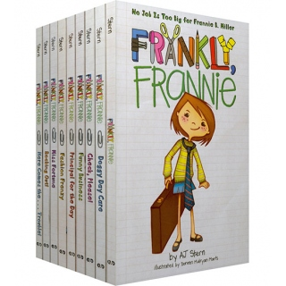 美国进口 Frankly, Frannie 坦率点,弗兰妮 系列9册【平装】