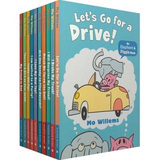 英国进口 小猪小象 An Elephant and Piggie Book 10册 儿童情商启蒙教育书【平装】