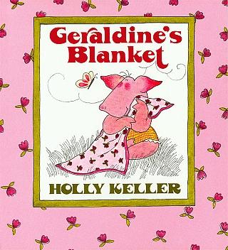 美国进口 猪小妹的毯子 Geraldine's Blanket【平装】