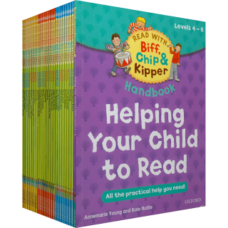 英国牛津大学出版社独家授权 Oxford Reading Tree level 4-6 Biff Chip and Kipper 牛津阅读树Home Learning 4-6级 (全25册)
