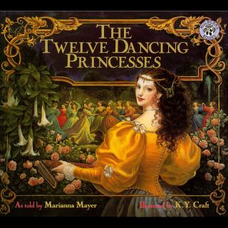 美国进口 美轮美奂唯美复古画风 Kinuko Y. Craft作品 The Twelve Dancing Princesses 十二个跳舞的公主【平装】