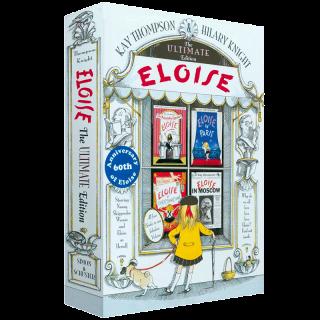 美国进口 小艾来了 60周年纪念版 大合集 Eloise: The Ultimate Edition【精装】(特价)