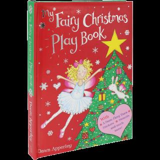 美国进口 小仙女的快乐圣诞 My Fairy Christmas Book 主题手工活动游戏书【精装】